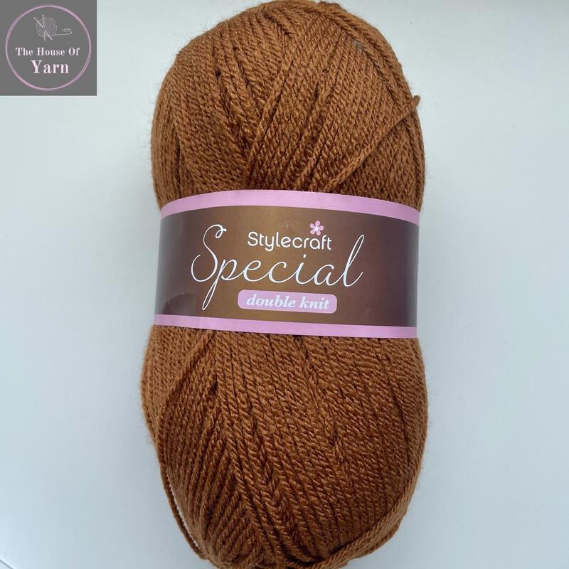 Gingerbread 1806 Stylecraft Special DK 100% Premium Acrylic Wool Yarn
