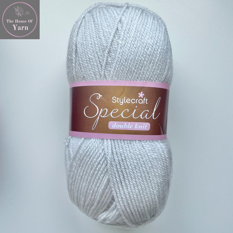 Hint Of Silver 1807 Stylecraft Special DK 100% Premium Acrylic Wool Yarn