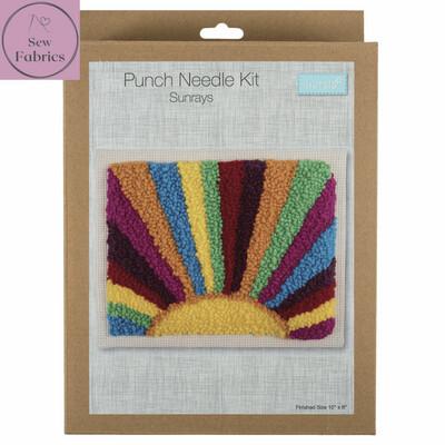 Trimits Sunrays Punch Needle Kit Craft Set