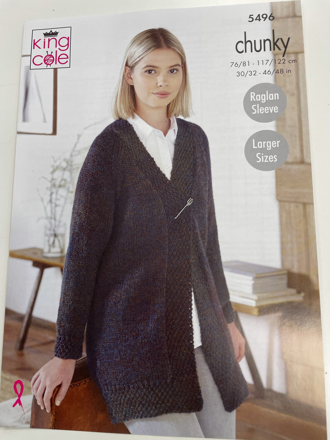 King Cole Cardigans Chunky - Women's Pattern 5496