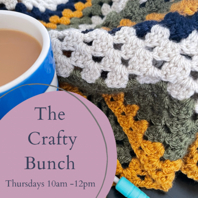 Thursday Crafty Bunch Social Group 10am - 12pm Ibstock, Leicestershire