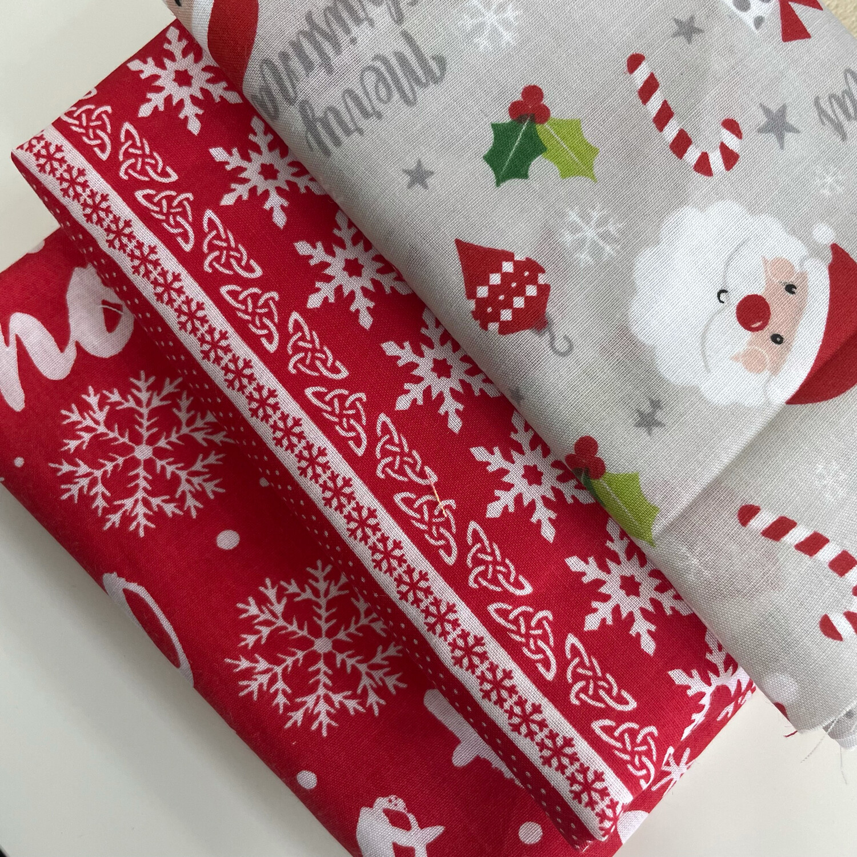 Remnant Christmas Polycotton Bundle