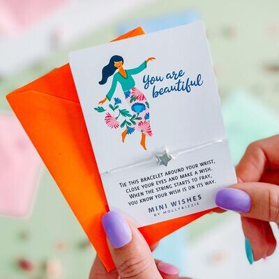 Yes Are Beautiful Wish Bracelet Gift