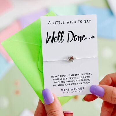 Well Done Wish Bracelet Gift