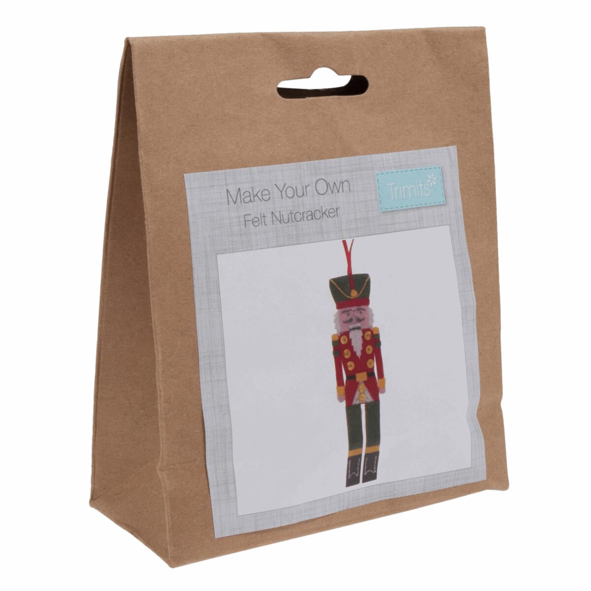 Felt Decoration Kit: Christmas: Nutcracker