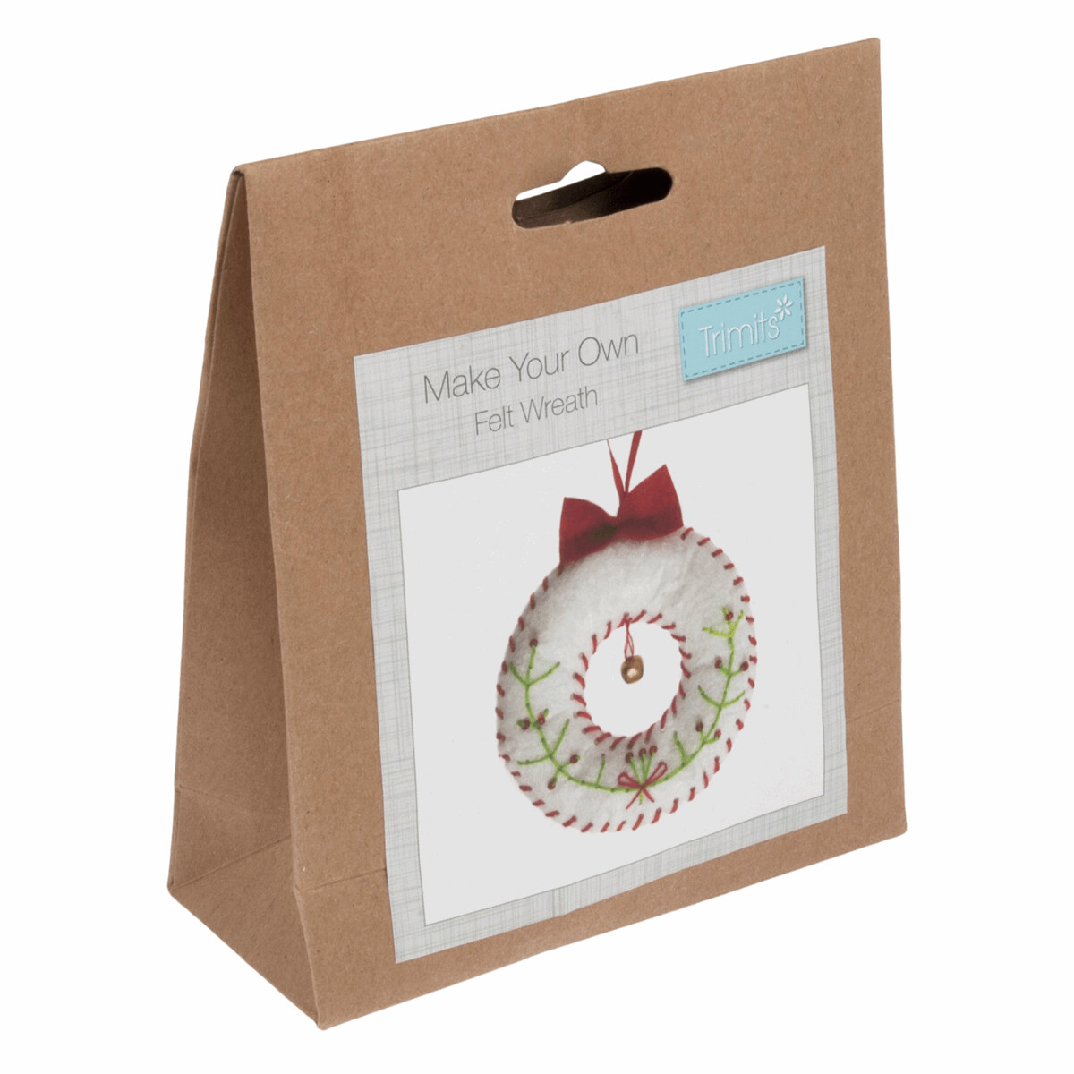 Felt Decoration Kit: Christmas: Wreath