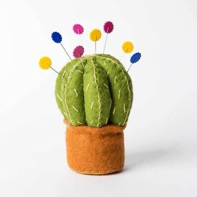 Cactus Pincushion Felt Craft Kit by Corinne Lapierre