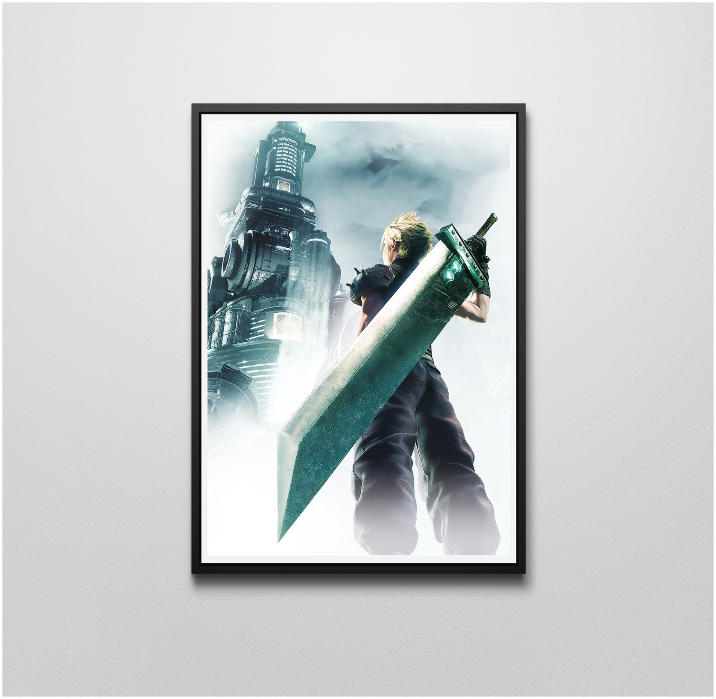 Final Fantasy 7 Digital Art Poster Print T1762 A4 A3 A2 A1 A0|