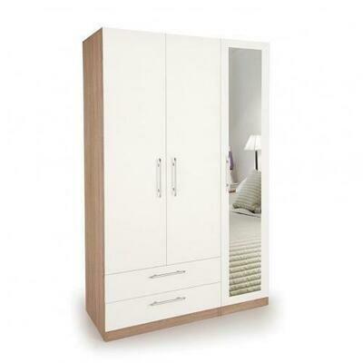 Wooden Wardrobe W003