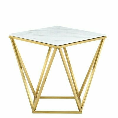 Geometric table side
