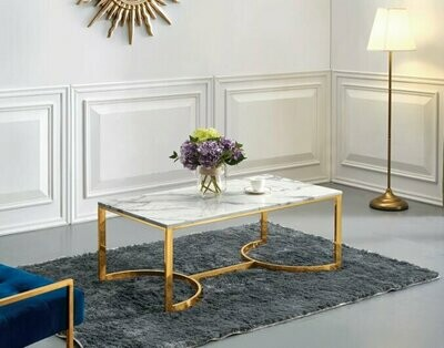 Gold Mercedes Coffee Table