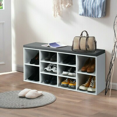 Shoe Storage Bench 10