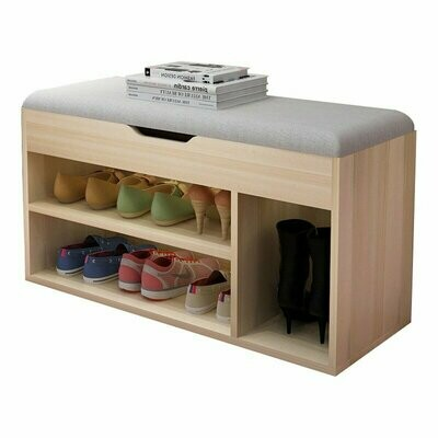 7 Pair Shoe Storage Bench