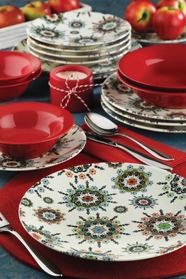 Kütahya Porcelain Nanoceram 24 Piece Dinner Set 880155