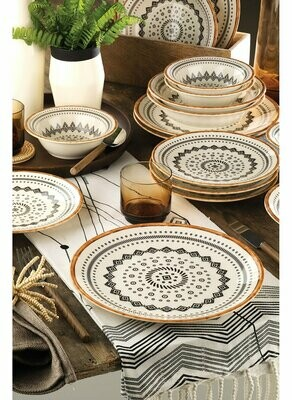 Kütahya Porcelain Nanoceram 24 Piece Dinner Set 89068