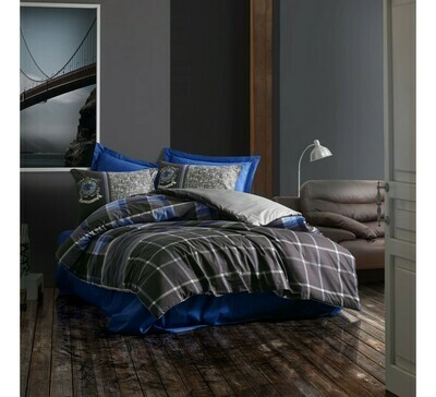 Bed Cover set 4-Piece Roberto Anthracite