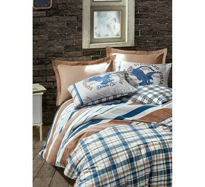 Bed Cover set 4-Piece Danilo Brown