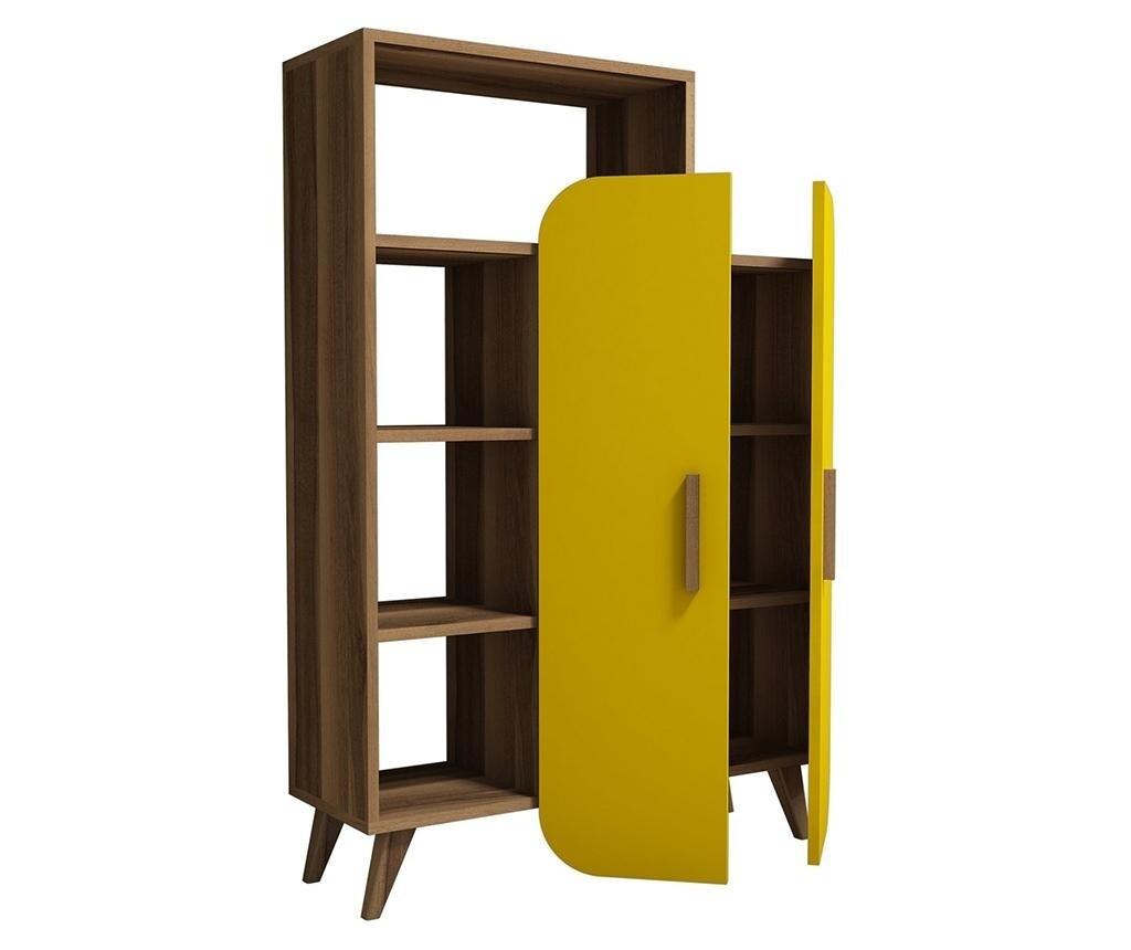 Storage unit yellow