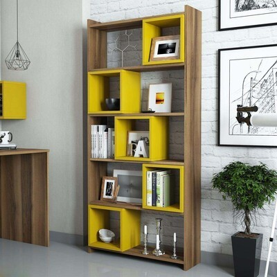 Smart shelves Yellow