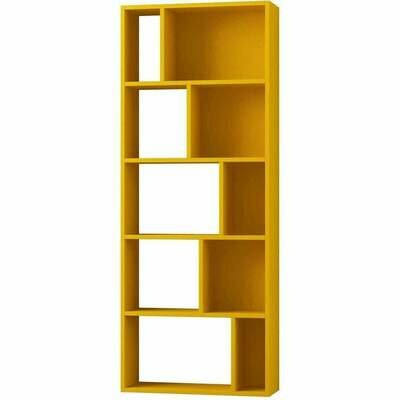 COMPACT BOOKCASE Yellow
