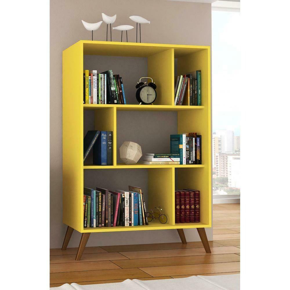 Yellow Devdas Bookcase