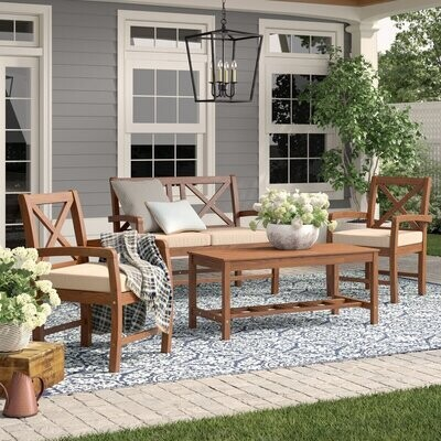 Patio X4 Outdoor Seating- Set of 4 pieces