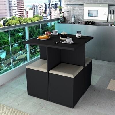 Sweetest Square Table set Black