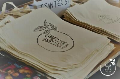 Βαμβακερή τσάντα -Vegan Life Festival-