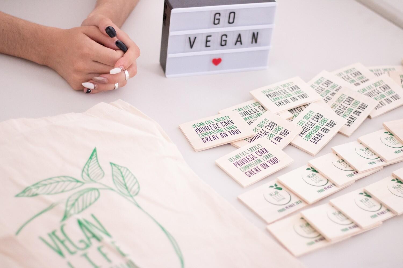 Vegan life festival Membership Card