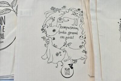 Βαμβακερή τσάντα - compassion