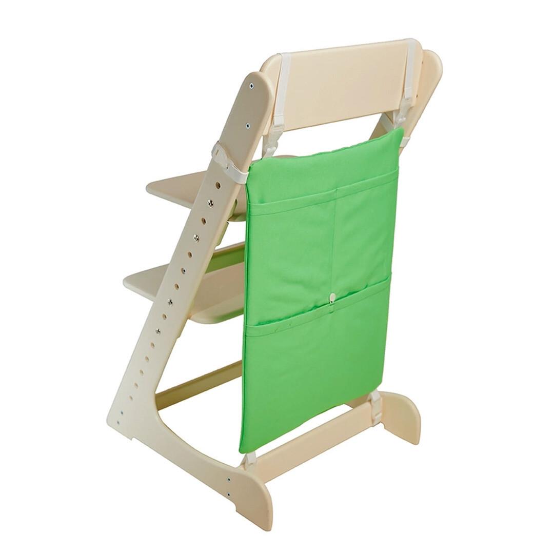 Карман для игрушек на Растущий стул, зеленый