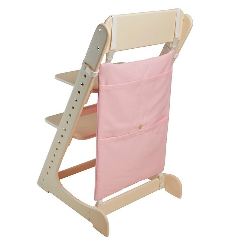 Карман-органайзер для Растущего стула, розовый