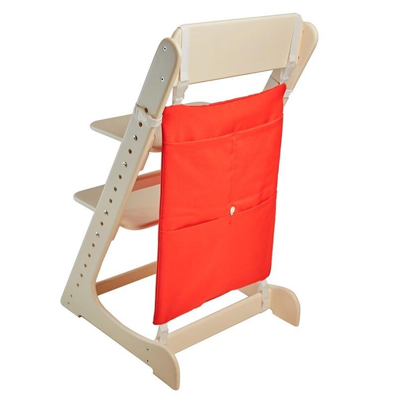 Карман-органайзер для Растущего стула, красный