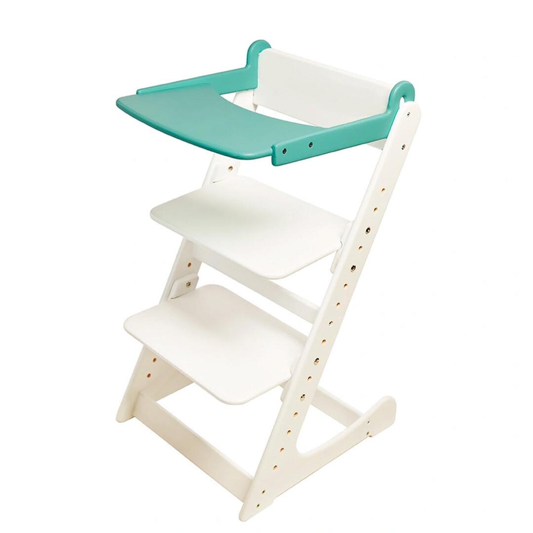 Стол к растущему стулу съемный, бирюзовый