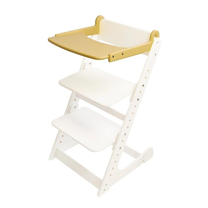 Стол к растущему стулу съемный, прозрачный лак