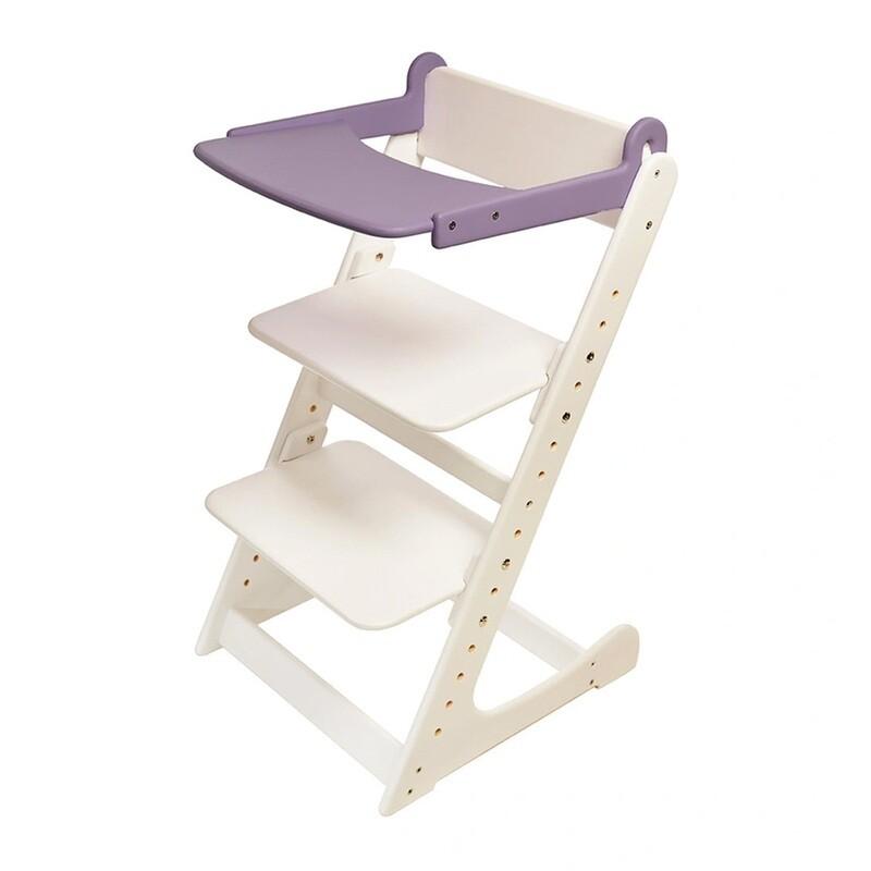Стол к растущему стулу съемный, фиолетовый