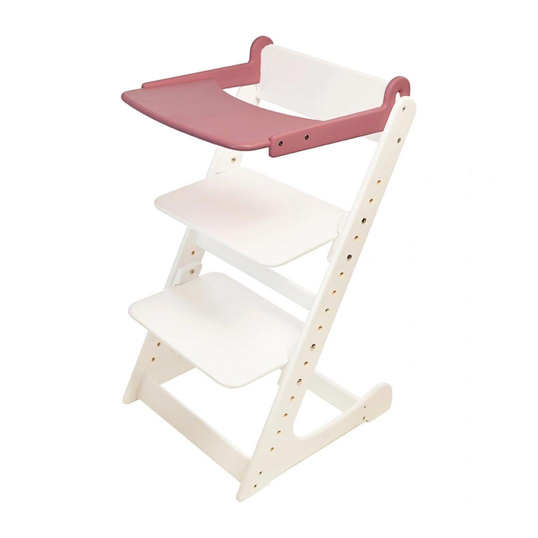Стол к растущему стулу съемный, розовый
