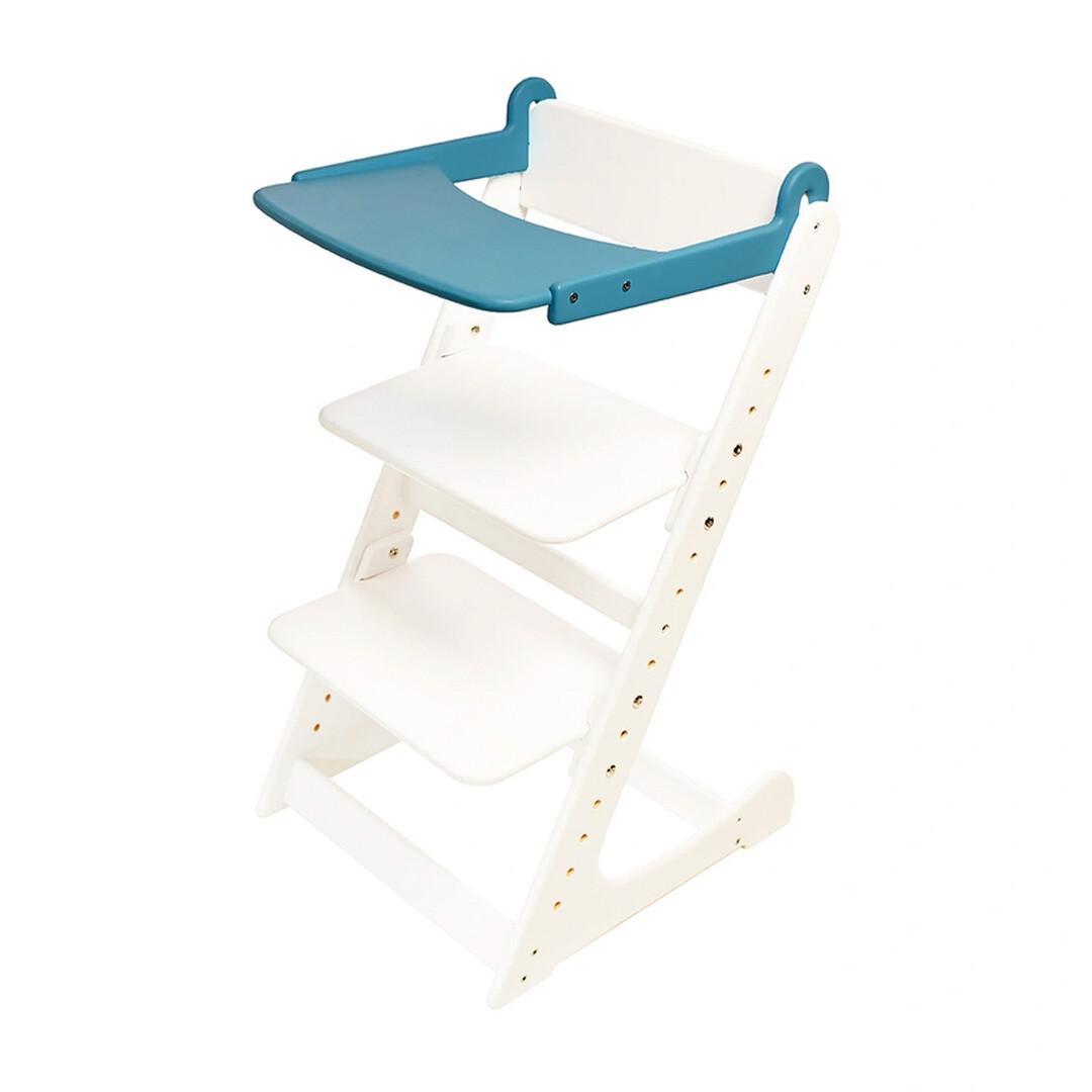 Стол к растущему стулу съемный, голубой