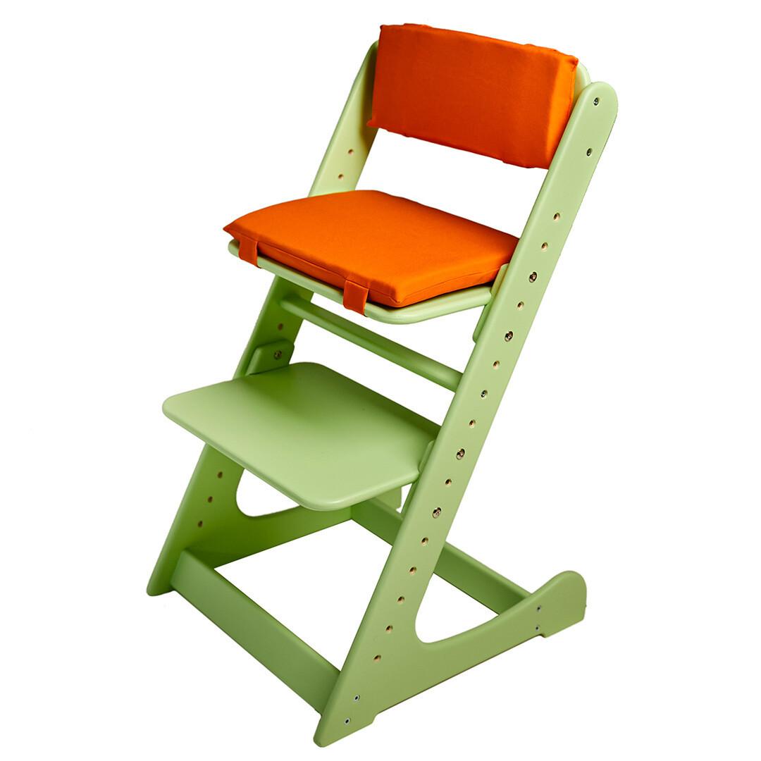 Комплект подушек на Растущий стул, оранжевый