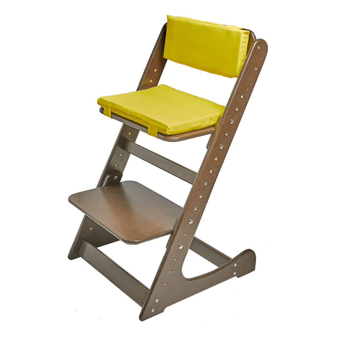 Комплект подушек на Растущий стул, лимонный
