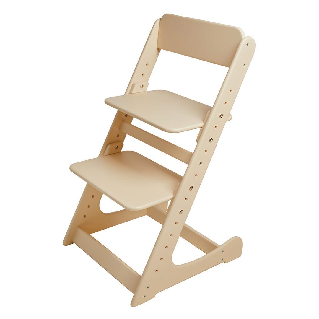 Растущий стул, кремовый