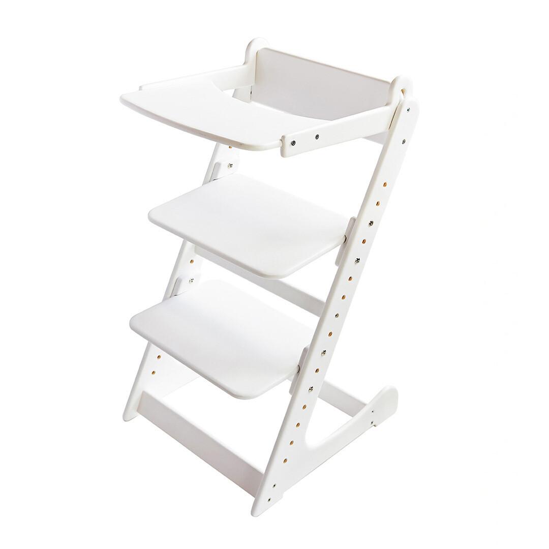 Стол к растущему стулу съемный, белый
