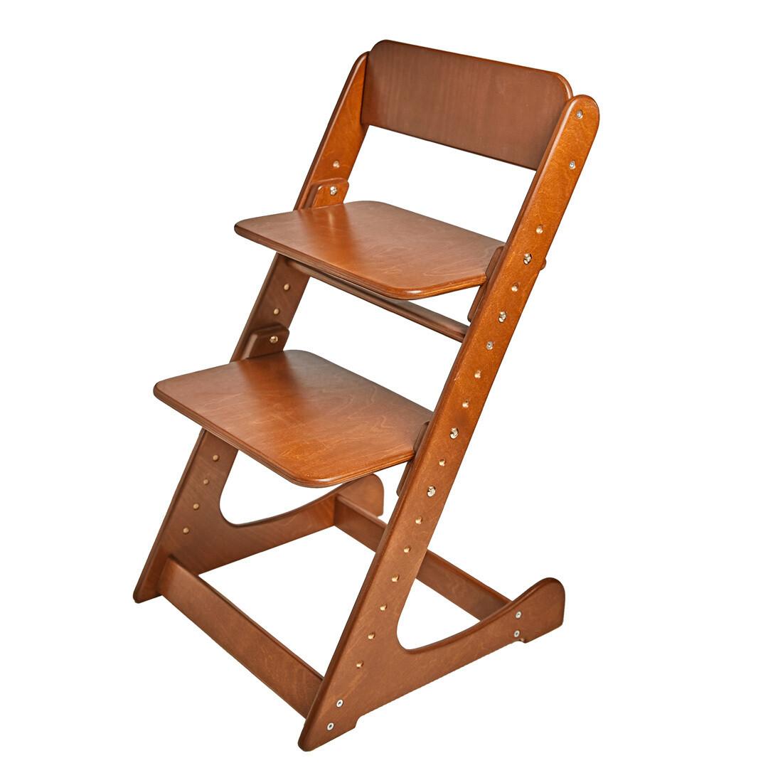 Растущий стул, темный орех