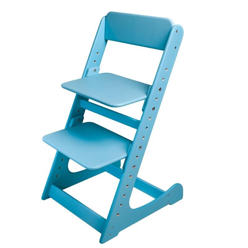 Растущий стул, голубой