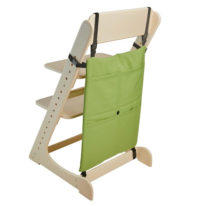 Карман-органайзер для Растущего стула, фисташковый