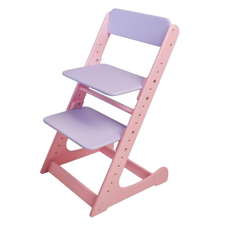 Растущий стул, розово-фиолетовый