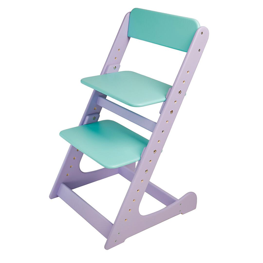 Растущий стул, фиолетово-мятный