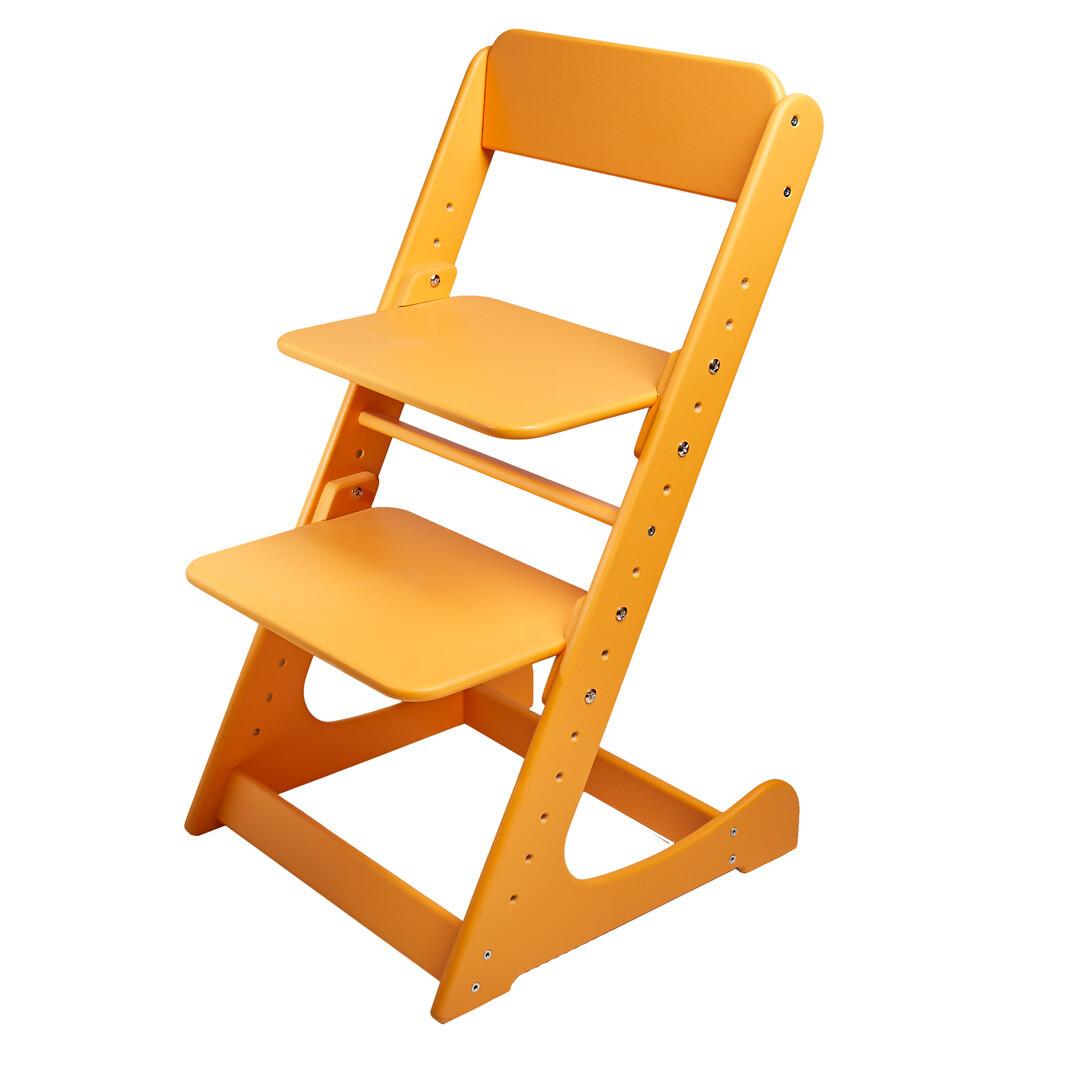 Растущий стул, оранжевый