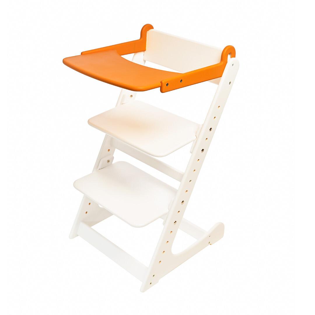 Стол к растущему стулу съемный, оранжевый