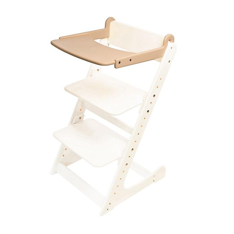 Стол к растущему стулу съемный, кремовый